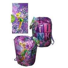 Disney Tinkerbell Pixie Indoor Slumber Sleeping Bag For Kids w/Carry Drawstring