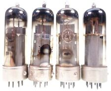 4x EL41 = 6CK5 = BF61 = N150 = CV3889 Valvo Metal Base Röhre tube tested #7948