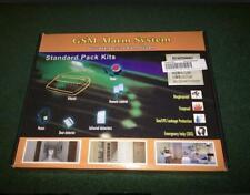 GSM SECURITY ALARM SYSTEM STANDARD PACK KITS REMOTE CONTROL DOOR DETECTOR SIREN