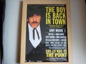 Phil Lynott, tribute show 2005 flyer from magazine