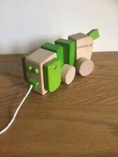 EverEarth tirer en bois jouet chien bébé 18mth+ bois certifié vert Accents