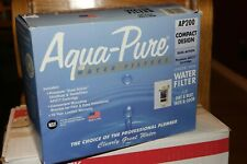 NEW AQUA-PURE WATER FILTER COMPACT DESIGN AP200 DUAL ACTION W/ AP217 CARTRIDGE