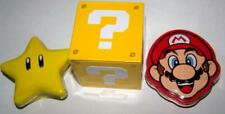 SUPER MARIO BROS Set of 3 CANDY FILLED Tins Bricks, Stars, Coins Video Gamers