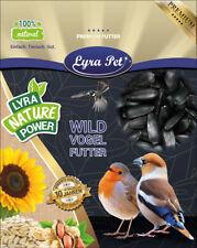 25 kg Sonnenblumenkerne schwarz Vogelfutter Vögel  Lyra Pet® HK Deutschland