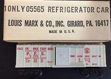 MARX 05565 REFRIGERATOR CAR PFE PACIFIC FRUIT EXPRESS MINT