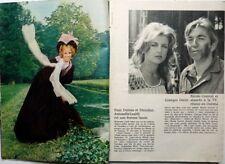 *ANTONELLA LUALDI_NICOLE COURCEL => coupure de presse 2 pages 1972 // CLIPPING