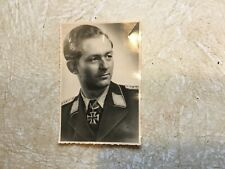 WW2 KGB PHOTO HANZ LULTER KNIGHTS IRON CROSS lot
