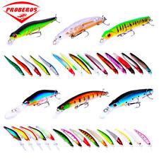33pcs Mixed Lot Wobblers Fishing Lures set Minnow Lure Fishing Tackle Crankbaits