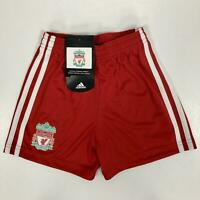 adidas Liverpool FC Official Home Shorts Red Infants Boys Football Soccer EPL