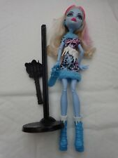 MONSTER HIGH DOLLS - ABBEY BOMINABLE - ART CLASS - MATTEL FIGURE DOLL
