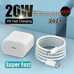 20W PD USB Type-C Fast Charging Charger Adapter for iPhone 12 11 Pro Max XS iPad