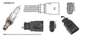 NGK NTK Oxygen Lambda Sensor OZA629-V4 fits Skoda Roomster 1.6 (5J)