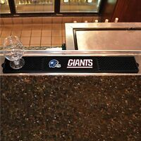"New York Giants 3.25"" x 24"" Bar Drink Mat - Man Cave, Bar, Game Room"