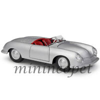 WELLY 24090 1948 PORSCHE 356 NO.1 ROADSTER 1/24 - 1/27 DIECAST MODEL CAR SILVER