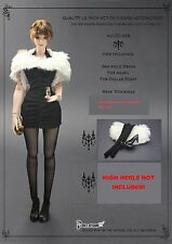 CC268 1/6 One-piece,Fur shawl,Stockings set @HOT TOYS,CY COOL GIRL,CG