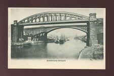 Durham SUNDERLAND Bridges c1902 u/b PPC
