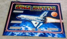 Williams Space Shuttle  Pinball Machine Next Gen Translite backglass