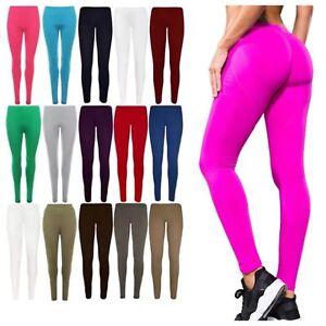 Womens Leggings Full Length Plus Sizes 8 10 12 14 16 18 20 22 26 28 30