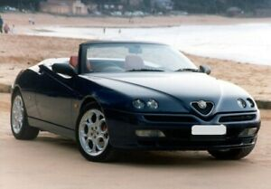 Alfa Romeo 1995-2003 - Mohair Hood With Plastic Rear Window