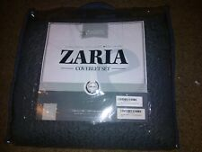Brand New Zaria 3 Piece Quilt/Coverlet Set King/Cal King Gray