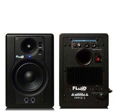Fluid Audio F4 aktiver 2-Weg Nahfeldmonitor Studiomonitor, 1 Paar