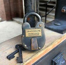Shawshank Prison Antique Lock Movie Prop