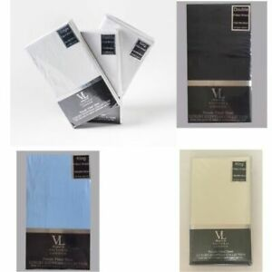 VICTORIA LONDON Percale Fitted Sheet Polycotton Single ,Double & King Size