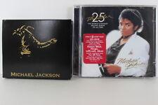 Michael Jackson Colorized Coin Collection 5 Quarters Set COA + Thriller CD & DVD