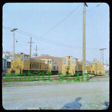 Original Slide, BCER British Columbia Electric Railway GE 70-ton #943, in 1959