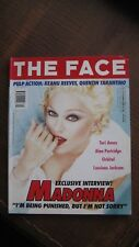 Madonna on the cover of  'The Face' magazine - October 1994