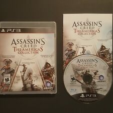 PS3 Assassin's Creed The Americas Collection COMPLETE Game Sony PlayStation 3