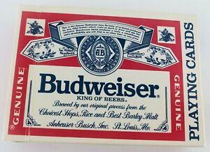 Vintage Genuine Budweiser Playing Cards
