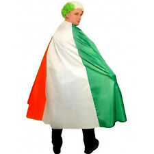 St Patrick's Paddys Day Flag Cape Irish Party Ireland Party Outfit Fancy Dress