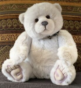 Charlie Bears Darling - Sweet, Adorable, Chunky Polar Bear!  NEW!