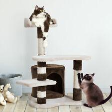PawHut Árbol Rascador para Gatos - Beige