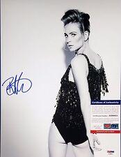 Britt Robertson Sexy Autographed Signed 11x14 PSA/DNA AC68831