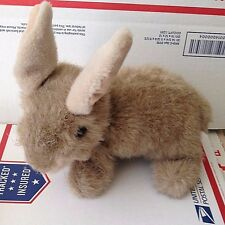 Ty Classic Buttons Bunny Rabbit Plush Soft Toy 1997 Brown Easter