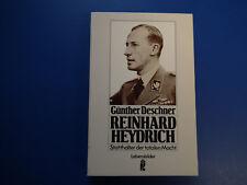 Reinhard Heydrich - Statthalter der totalen Macht. Deschner, Günther top Zustand