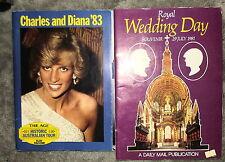 Princess Diana Royal Wedding Souvenir Magazines Charles and Diana 1983