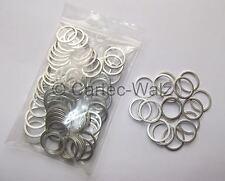 100 PIÈCES Bord En aluminium en aluminium bagues d'étanchéité Joints AL 18x22x1,