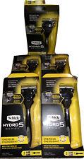 Lot of 5 Schick Hydro5 Sense Razors 1 Handle 2 Cartridges Each Brand New!
