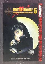 Battle Royale Volume 5 English Manga Graphic Novel First Edition Takami Taguchi