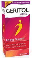 Geritol Liquid Energy Support B-Vitamins 12 oz (Pack of 3)