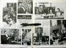 Dalida => Ausschnitt aus Presse 2 Seiten 1974 Portugal/Portuguese Ausschnitt