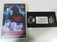 ¿Quieres Che Te Contando Un Segreto? VHS Nastro Castellano Horror