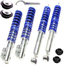 Ta Combinés Filetés Premium Bleu + 4 Paliers > VW Golf 2 / 3/Vento / Corrado
