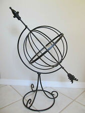 "Large 32"" Armillary Sphere with Arrow for Home, Patio or Garden Decor"