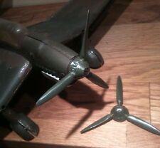 Hélice pour avion en tôle Stuka DUX et JEP avec plan de montage offert