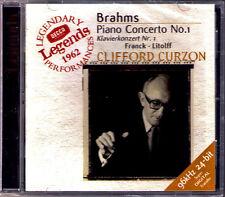 Clifford Curzon Brahms piano concerto 1 Franck variations LITOLFF Szell Boult