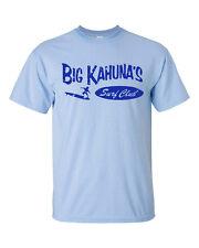 Big Kahuna's Surf Club Surfing Board Beach Waves Men's Tee Shirt 94